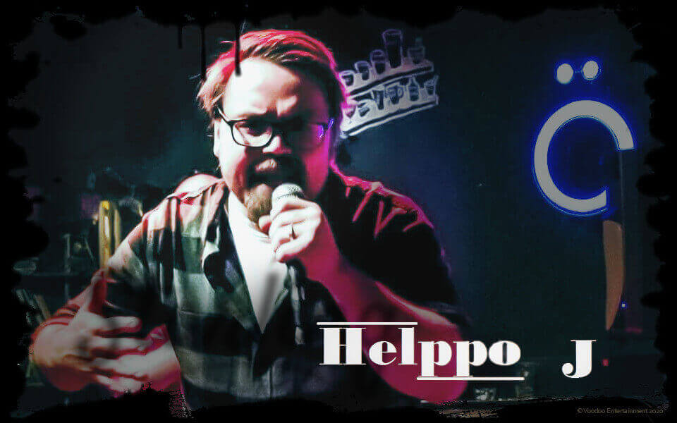 Book Helppo J to your party now!