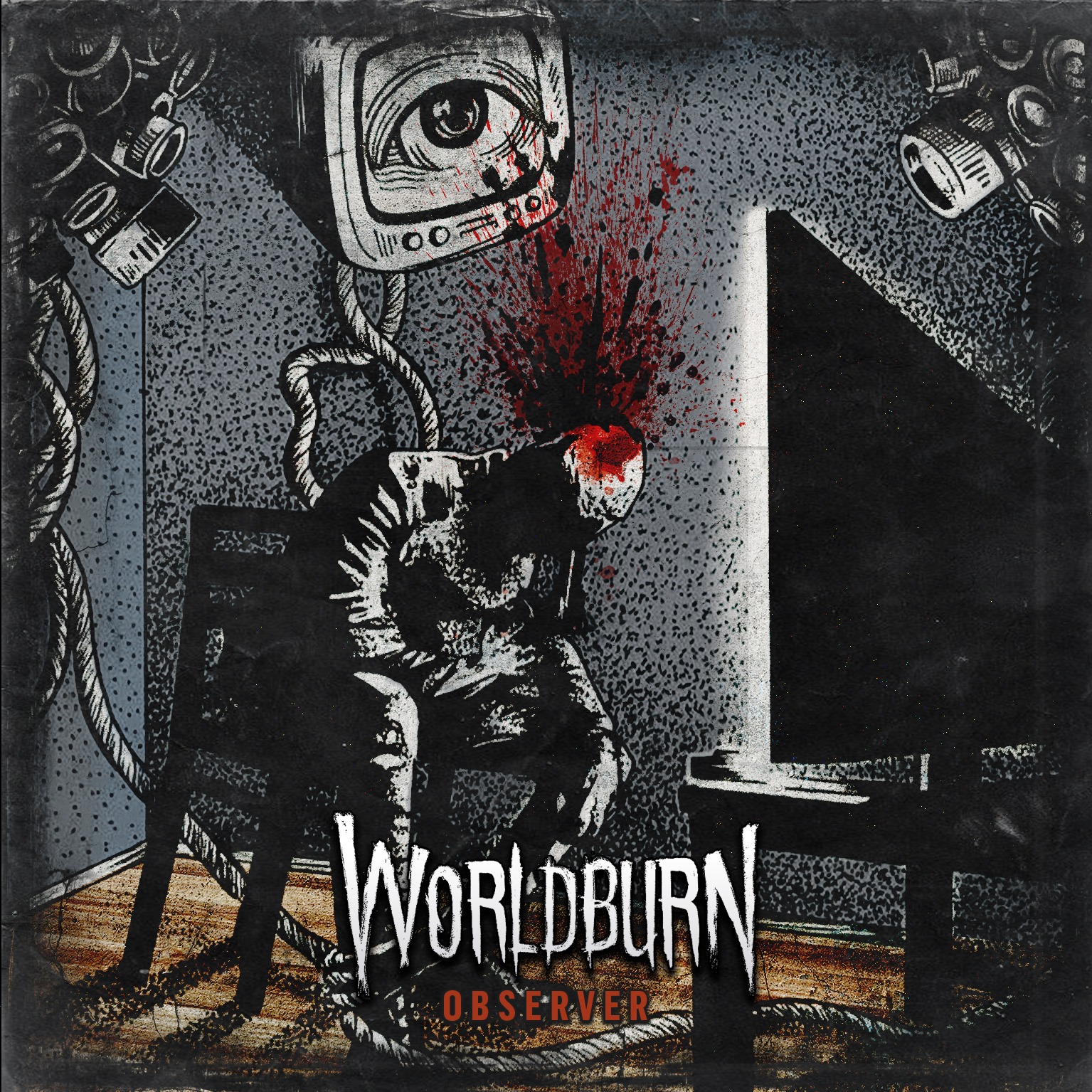 Worldburn CD:n kansi